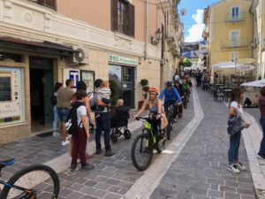 Escursione in e-bike